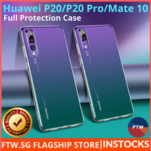 [SHIPS TODAY!] Huawei P20/P20 Pro/Mate 10/Mate 10 Pro Full Protection Case 🌟Japan 9H Tempered Glass