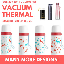 [ NEW ] SUS 304 Vacuum Thermal Water Bottle / Tumbler for Gifts / Office / Kids / Christmas