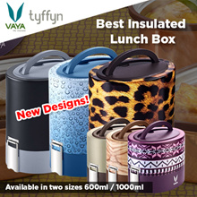 Vaya Tyffyn Insulated Stainless Steel Lunch Box - BPA Free Eco friendly Suits to Adults and Kids