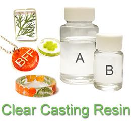 Epoxy resin casting / liquid gloss glaze lacquer plastic DIY / UV glue