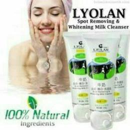 [BPOM] LYOLAN WHITENING MILK CLEANSER SJ0066