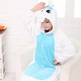 [SG SELLER] ★UNISEX★Blue Unicorn★Onesie / Costume / Sleepwear★