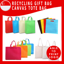3 Pcs Set  Eco Bag / Customized / Gifts / Canvas /Shopping/Retail/Corporate/Custom Made /Goodie/Bag