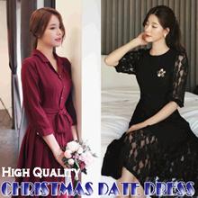 [Chicline] 2018 new arrival Korean dress  [UP TO 65% OFF - women fashion Korean Formal Dress