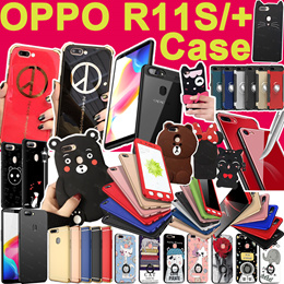 New arrival  OPPO R11S cartoon case flip PU wallet cover for OPPO R11 R9S R9 iPhone X 8 7 6