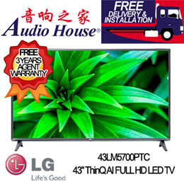 LG 43LM5700PTC 43INCH ThinQ AI Full HD SMART TV / WITH 3 YEARS LG WARRANTY