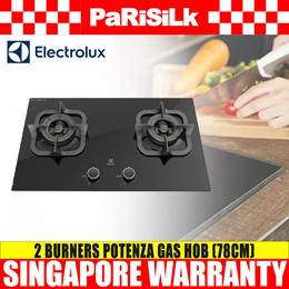 Electrolux EGT7826CKP 2 Burner Potenza Gas Hob (78cm)