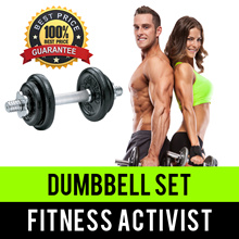 ⏰💪★★PROMO SALES★★Metal Plate Dumbbells Set★★Singapore Seller★★Fast Delivery★★