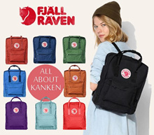 ★Authentic★ Fjallraven Kanken | Unisex Backpack | Vinylon Hardwearing Fabric | Opening Sales | Bag
