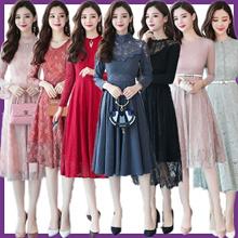 2018Korean Slim Sexy skirt/evening dress/Banquet dress/Cocktail dress/Wrap dress/Pack hip dress