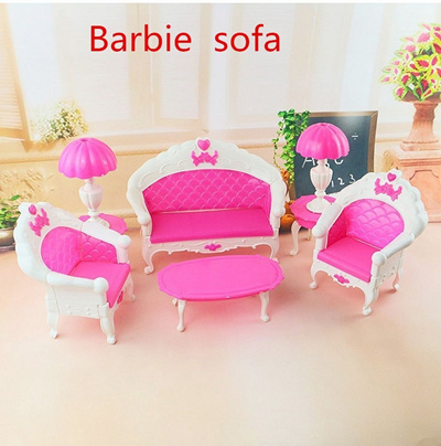 Qoo10 - Lovely Dollhouse Doll MINI Vintage Furniture Playset Living ...