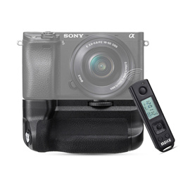 Meike MK-A6300 Battery Grip + Wireless Remote Controller (For Sony A6000 / A6300 Digital Camera)