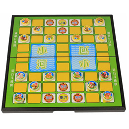 Animal Chess with high quality magnetic foldable board