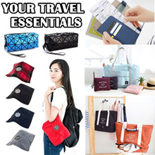 Your Travel Essential/Travel Pillow/Travel bag/Travel make up pouch/Passport holder