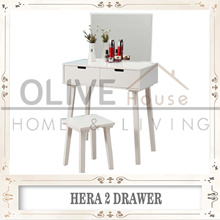 FREE SHIPPING/ Hera Console Set (White)/ Lucia Console Set Series/Ariel Console SeT