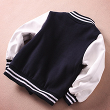 shop Boys Jacket Bomber Baseball Jacket for Baby Kids Football Jersey Coat Children Windbreaker Boys