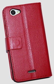 Leather Case for Sony Xperia J / ST26i (0152)