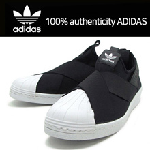 [Adidas]100% authenticity ADIDAS Slip-on shoes/Adidas Courtvantage Slip-on/Adidas Superstar/S81337