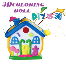 DIY Coloring Doll 3D Plaster Doll Unbreakable Plaster Doll Vinyl Paint Doll