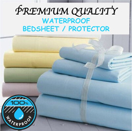 ♥ FAST DELIVERY ♥ PREMIUM QUALITY FITTED / NON-FITTED WATERPROOF MATTRESS PROTECTOR SALES