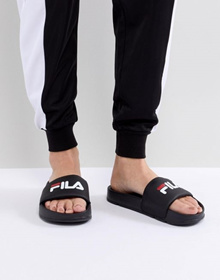 Fila Difter Sliders In Black