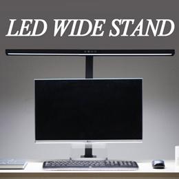 LED 와이드 스탠드 800S 블랙 화이트 사무실 학습용 학생 직장인 일
