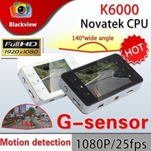 [bottle price!!]K6000 Car Camera Car Video Recorder with FHD 1920*1080P 25FPS 2.7 inch TFT Screen Re