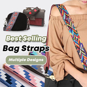 ⭐FREE-SHIPPING⭐BAG STRAPS [2-WAY REVERSIBLE]  Korean style  shoulder strap accessories⭐60 DESIGNS