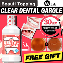 ★1-DAY SUPER SALE★BUY1+FREE GIFT★KOREA SNS HOT★ [W.Lab] CLEAR DENTAL GARGLE / QUICK MOUTH WASH