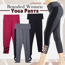 Branded Women Yoga Pants - 4 Colors - Good Quality