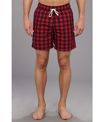 c960c359ab Qoo10 - Ben Sherman Buffalo Gingham Swim Trunk : Sports Wear / Shoes