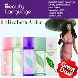 Elizabeth Arden Green Tea Original/ Lotus/ Exotic/ Cherry Blossom/ Lavender 100ml