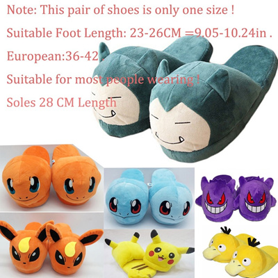 Pokemon Slippers Elf Ball Pikachu Eevee