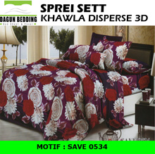 Sprei Khawla Disperse motif Save 0534