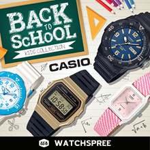[CHEAPEST PRICE IN SPORE] *CASIO GENUINE* Kids Watches Collection! W215H LW200  Free Shipping!