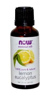 [Qprime]Lemon Eucalyptus Essential Oil 1 fl oz (30 ml) [Now Foods]