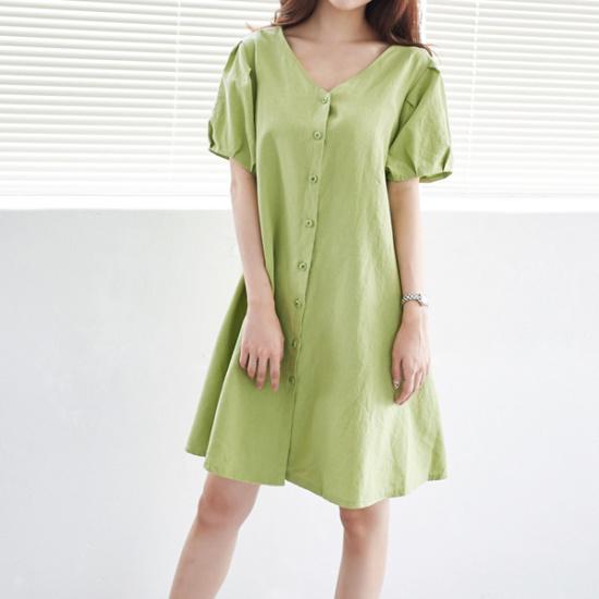 イニクルフィコットンOPSワンピース 綿ワンピース/ 韓国ファッション