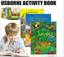 Usborne activity book/Children book/Gift/Toy/Pre schooler/ sticker book/sticker/stickers/Baby