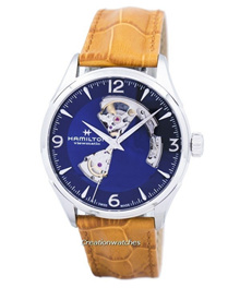 [CreationWatches] Hamilton Jazzmaster Viewmatic Open Heart Automatic H32705541 Mens Watch