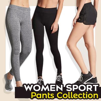 Qoo10 Celana Olahraga Wanita Celana Legging Celana Pendek Sport Leggin Pakaian