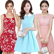 Korean dresses/Occupation/Casual/chiffon/lace/suit/Office/Leisure/Bridesmaid/Short