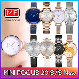 [Mini Focus]  ♥26STYLE♥The best womens leather mesh metal wrist watch