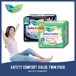 LAURIER S.COMFORT  VALUE TWIN PACK