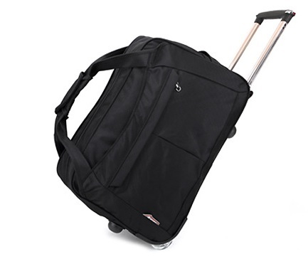 RESTOCK! TROLLEY TRAVEL BAG HANDLE Deals for only Rp229.000 instead of Rp229.000