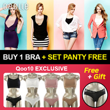 [Free Gift Panties] ♥ 2019 Best Relax Bra Lingerie ♥ Qoo10 Exclusive / Relax tummy / Relax stretch