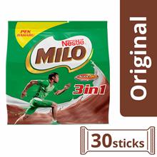 NESTLE MILO 3in1 Activ-Go Chocolate Malt Powder 30 Sticks 33g Per Stick (SPECIAL OFFER)