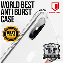★KnightShield Military Anti-Burst Case★Apple Silicon Case★Baseus Glitter Case★Iphone/Samsung/Huawei★