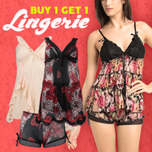 YOUVE***TERMURAH*** BUY 1 GET 1 LINGERIE SEXY