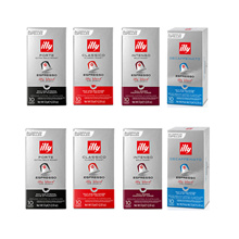 100 capsules compatible with Illy Nespresso for domestic delivery