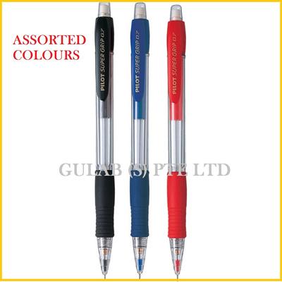 Made in Japan H-187 Pilot Super Grip 0.7mm mechanical pencil neon color barrel